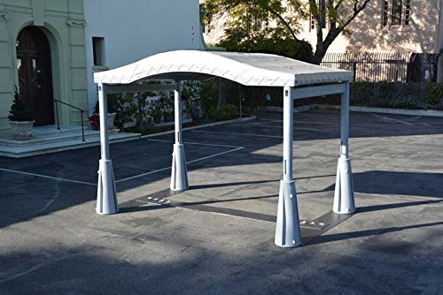 GoPort 1-Module Portable Carport - Outdoor Shelter by GoPort