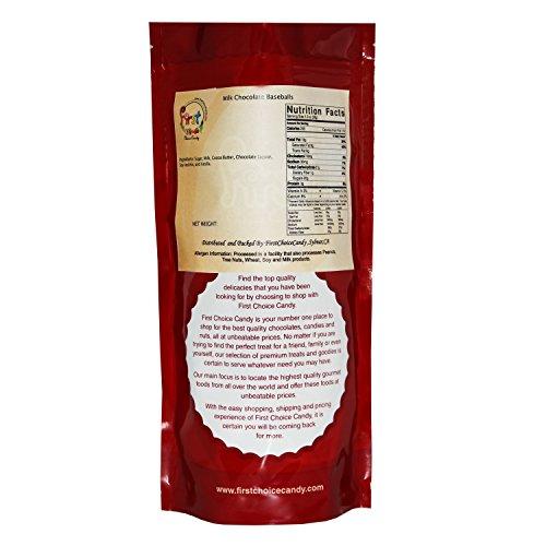 FirstChoiceCandy Chocolate Baseballs 1 Pound Resealable Bag