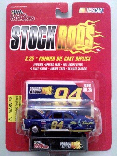 - Stock Rods Nascar: Issue #16 Bill Elliot #94 Navy/red Interior Stock Rod Replica