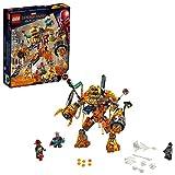 LEGO Marvel Spider-Man Far From Home: Molten Man Battle 76128 Building Kit, New 2019 (295 Piece)