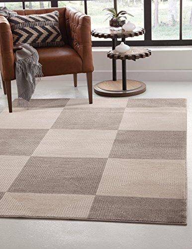 - Abacasa Metro Zen Area Rug, 8' x 10', Charcoal/Grey/Ivory