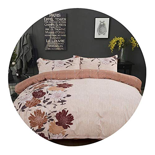 Comforter Bedding Sets Queen Quilt Cover Set King Size Flowers Quilt Cover Set GG01#,style1,173x218cm