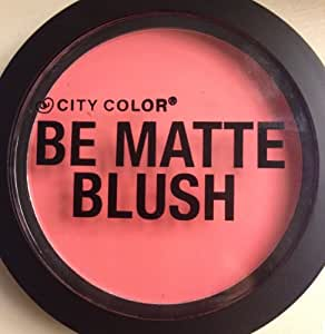 City Color BE MATTE Dragonfruit Blush .314oz