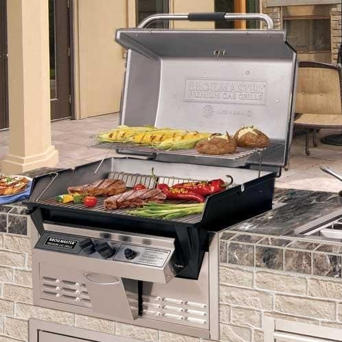Broilmaster R3n Infrared Natural Gas Grill Built In