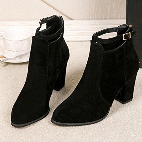 Ville de Femme pour squarex Chaussures Noir à Lacets pAxBpEwq