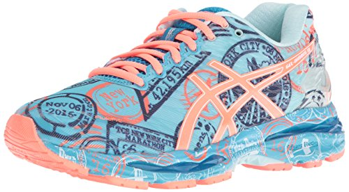 ASICS Women's Gel-Nimbus 18 Nyc Shoe, Run/New/York, 11 M US by ASICS