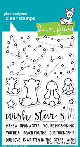 Lawn Fawn LF1407 Upon a star clear stamps by Lawn Fawn