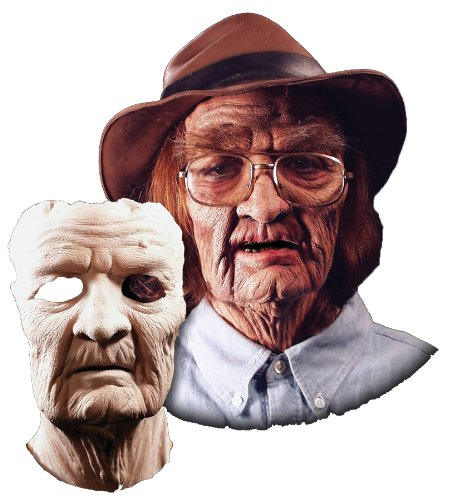 [Prosthetic Old Age Mask] (Prosthetic Fx Makeup Halloween Masks)