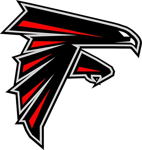 Atlanta Falcons NFL Football Sport Art Decor Vinyl Sticker 12'' X 12'' Atlanta Falcons 12' Vinyl