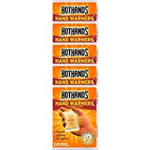 HotHands Hand Warmers, 10 count  (5 pack with 2 warmers per pack)