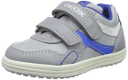 Geox Jr Vita a, Zapatillas para Niños Gris (Grey/skyc1295)