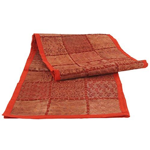 Red Sari Patchwork 108
