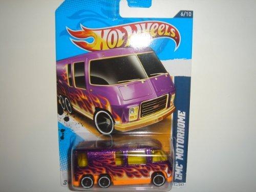 Hot Wheels 2012 Heat Fleet GMC Motorhome Purple Card (Gmc Truck Motors)