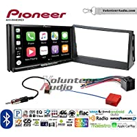 Volunteer Audio Pioneer AVH-W4400NEX Double Din Radio Install Kit with Wireless Apple CarPlay, Android Auto, Bluetooth Fits 2010-2011 Kia Soul