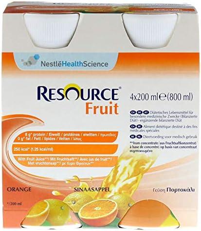 RESOURCE Fruit Orange 4X200 ml