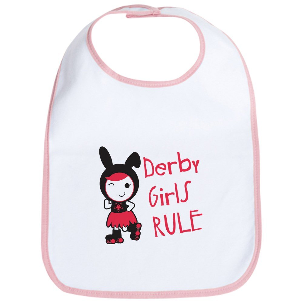 CafePress - Roller Derby - Derby Girls Rule Bib - Cute Cloth Baby Bib, Toddler Bib