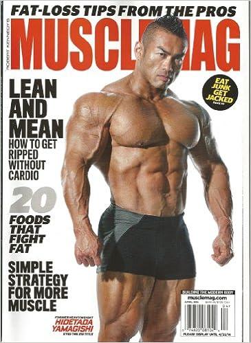 Muscle Mag (Hidetada Yamagishi Cover, April 2014): Mike Carlson ...