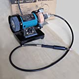 3' 70MM Multi-function Electric Bench Grinder Polisher Drilling W/...