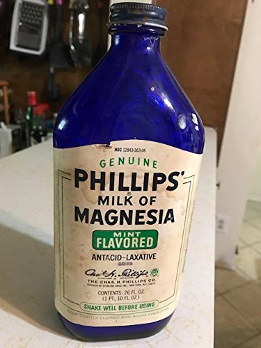 Phillips MOM cobalt blue bottle