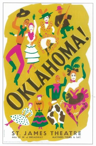 Oklahoma! 11x17 Broadway Show Poster (Broadway Show Posters)