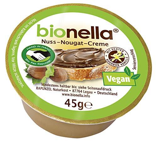 Rapunzel bionella Nuss-Nougat-Creme vegan HIH, 45 g