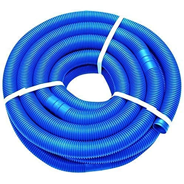 well2wellness 9m Blauer Manguera Piscina Mangueras Flexibles con Manguitos 38mm: Amazon.es: Jardín