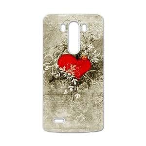 New Style Custom Picture Creative Heart Graffiti Custom Protective Hard Phone Cae For LG G3