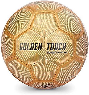 SKLZ - Balón de fútbol para Unisex, Talla 3, Color Dorado: Amazon ...