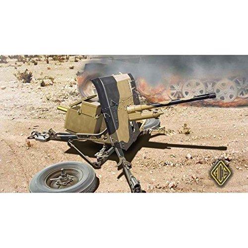 ACE Model Plastic Anti-Tank Gun ORDNANCE QF 2-POUNDER 1/72 72504