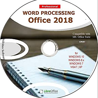Word Processing Office Suite 2018 Perfect Home Student and Business for Windows 10 8.1 8 7 Vista XP 32 64bit| Alternative to Microsoft? Office 2016 2013 2010 365 Compatible Word Excel PowerPoint?????