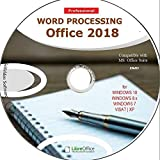 Word Processing Office Suite 2018 Perfect Home Student and Business for Windows 10 8.1 8 7 Vista XP 32 64bit| Alternative to Microsoft️ Office 2016 2013 2010 365 Compatible Word Excel PowerPoint⭐⭐⭐⭐⭐