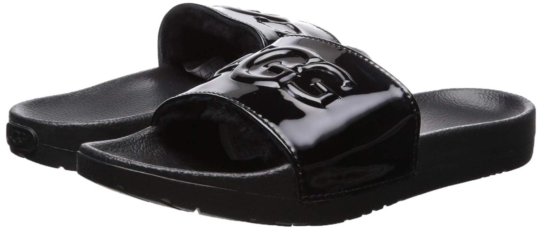 c3cafa5f9fa UGG Women's Royale Graphic Metallic Slide Sandal