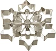"Ateco Large Snowflake Cookie Cutter, Stainless Steel, 8"" dia"