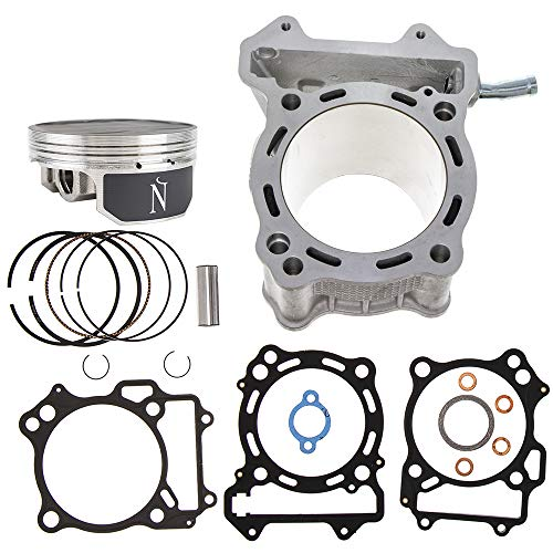 94mm 434cc Big Bore Cylinder Piston Namura Top End Kit For 2000-2015 Arctic Cat Kawasaki Suzuki KFX400 KLX400R LTZ400