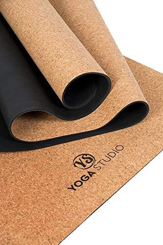 Esterilla de Yoga de Corcho para Estudio de Yoga, Extra ...