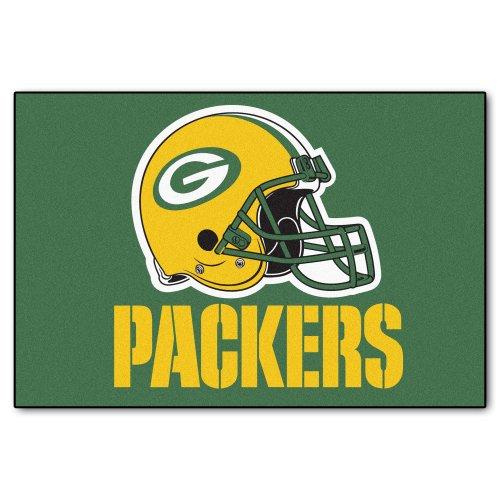y Packers Nylon Face Starter Rug ()