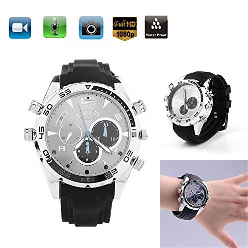 8Gb Water Resistant Spy Watch Camera - 4
