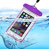 xolo opus 3 mobile phone - ONX3® (Purple) XOLO Opus HD Universal Transparent Mobile Cell Smart Phone, Passport, Money Underwater Waterproof Protection Bag, Case, Cover