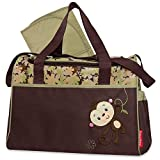 Fisher-Price Monkey Duffel Style Diaper Bag