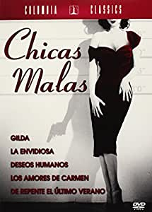 Pack Bad girls: (Deseos humanos, Los amores de carmen, De repente el ultimo verano, La envidiosa, Gilda) [DVD]