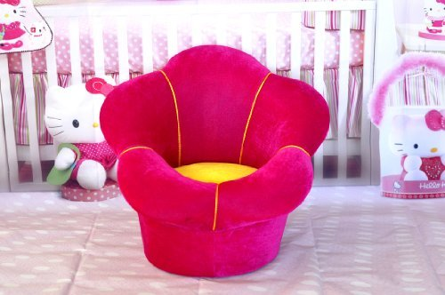 New photography photo props baby rose red flower Single person sofa SF03 by Backdropshop
