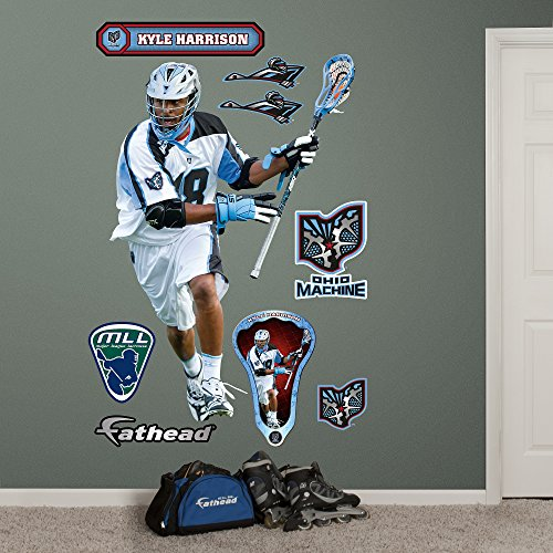 MLL Ohio Machine Kyle Harrison Real Big Wall Decals (Ohio Machine)