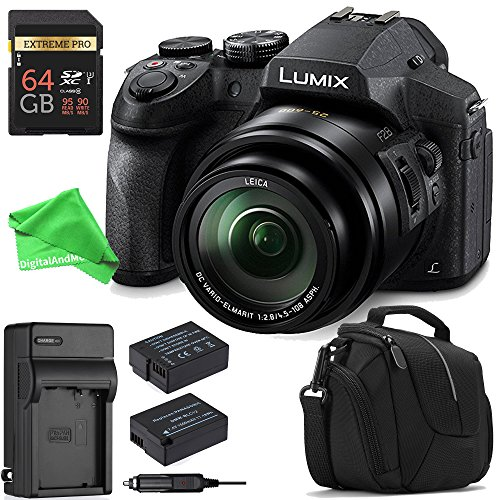 Panasonic LUMIX DMC-FZ300K ALL YOU NEED Digital Camera BUNDL