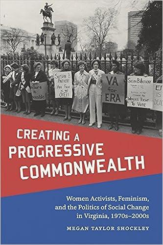 Creating a Progressive Commonwealth: Women Activists ...