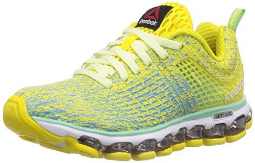 Mint Yellw Beam de Citrus Run Jaune course Glow Reebok Blue Stinger Zjet Chaussures Glow femmes F1zCSC