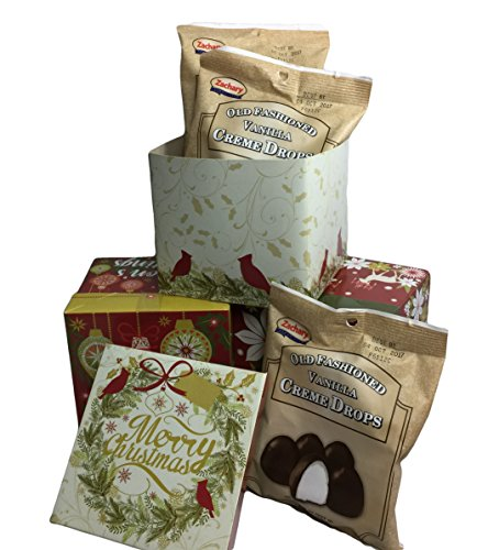 Old Fashioned Vanilla Creme Drops in Gift Box (3 Bags)