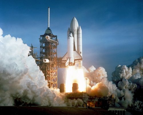 New 11x14 NASA Photo: COLUMBIA, Launch of First Space Shuttle