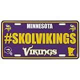 Siskiyou NFL Minnesota Vikings Hashtag License Plate