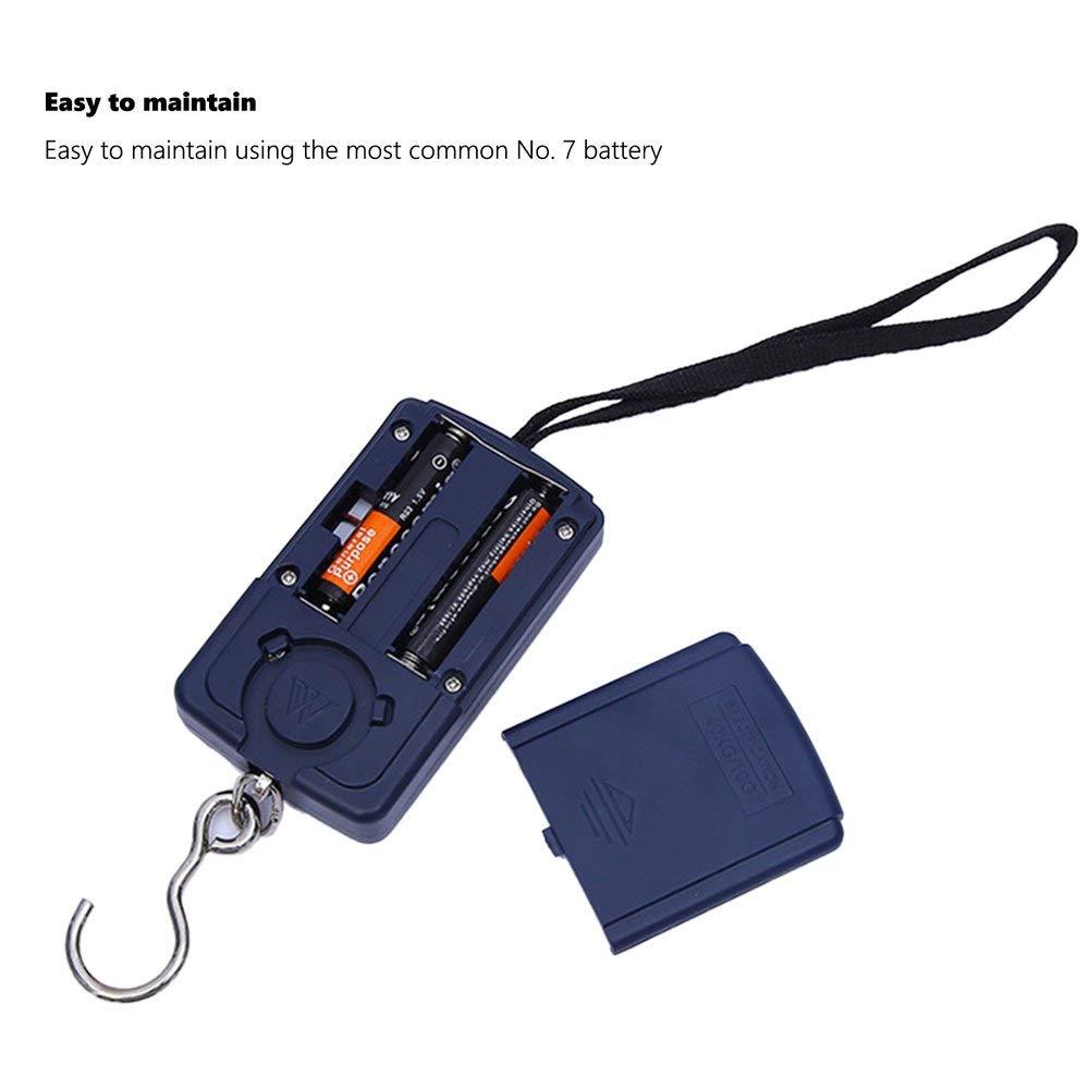 Noir avec Corde Balances Portables Mini Balance /à Bagages Balances /électroniques Balances Express
