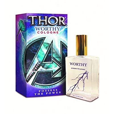 Jads International Avengers Thor Worthy Possess The Power 100 mL Cologne: Toys & Games